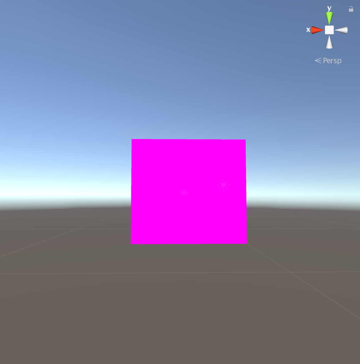 shader error visual symptoms