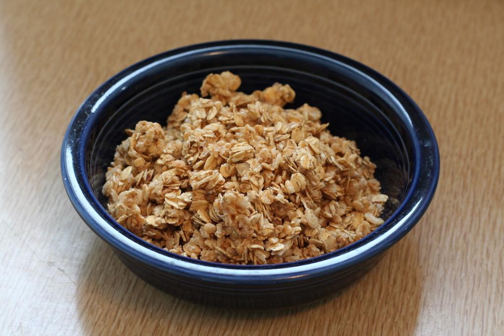A tasty bowl of Granola