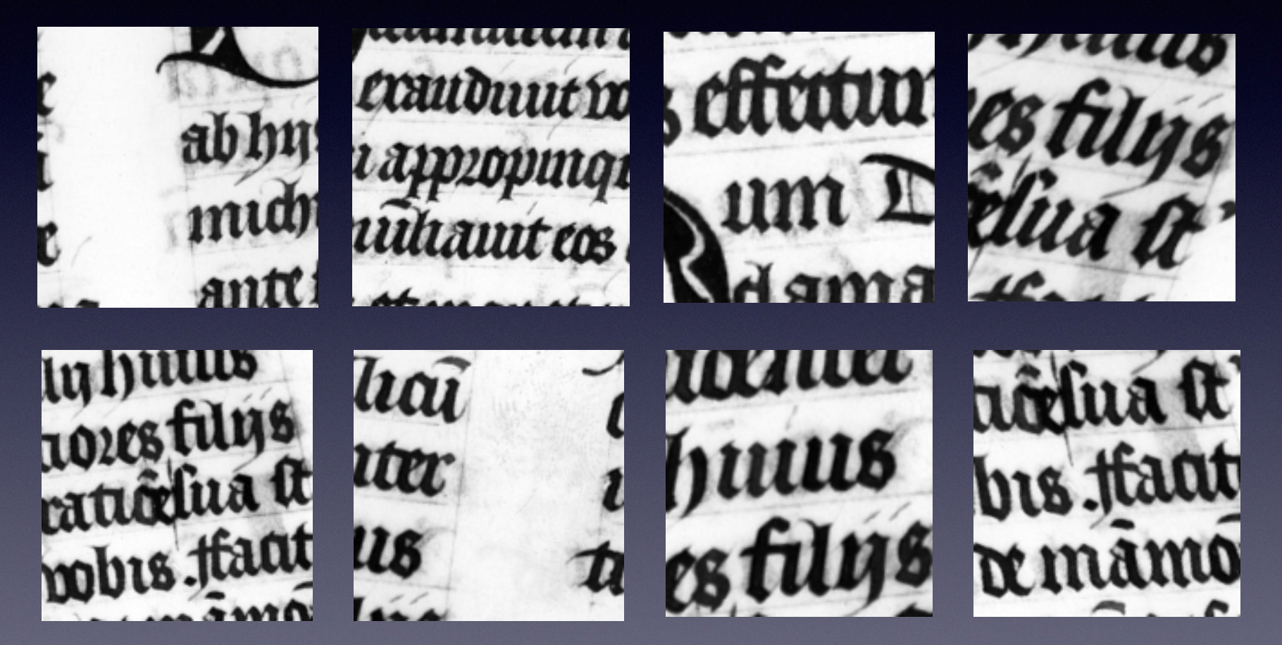 Examples of augmented patched