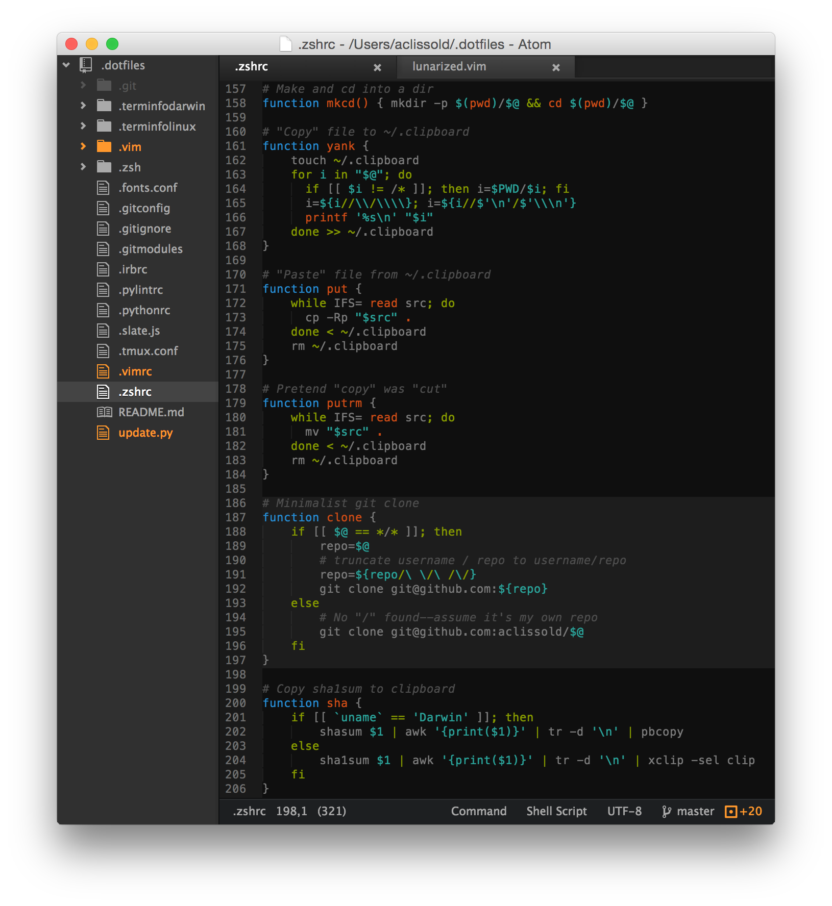 Atom Screenshot