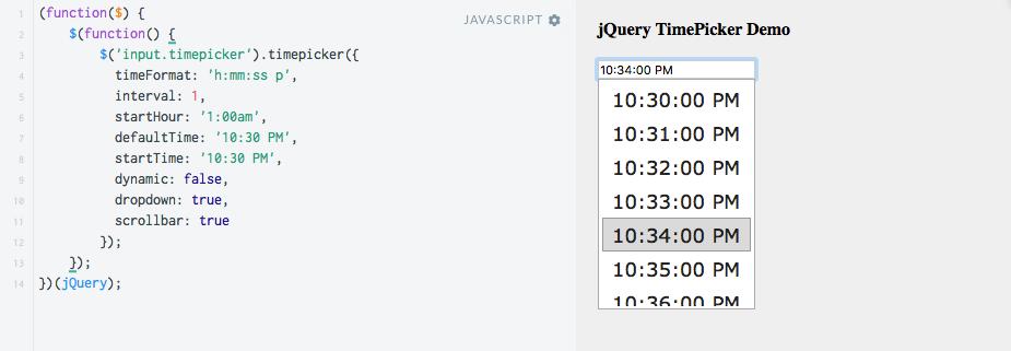 jquery_timepicker_basic_demo_-_jsfiddle