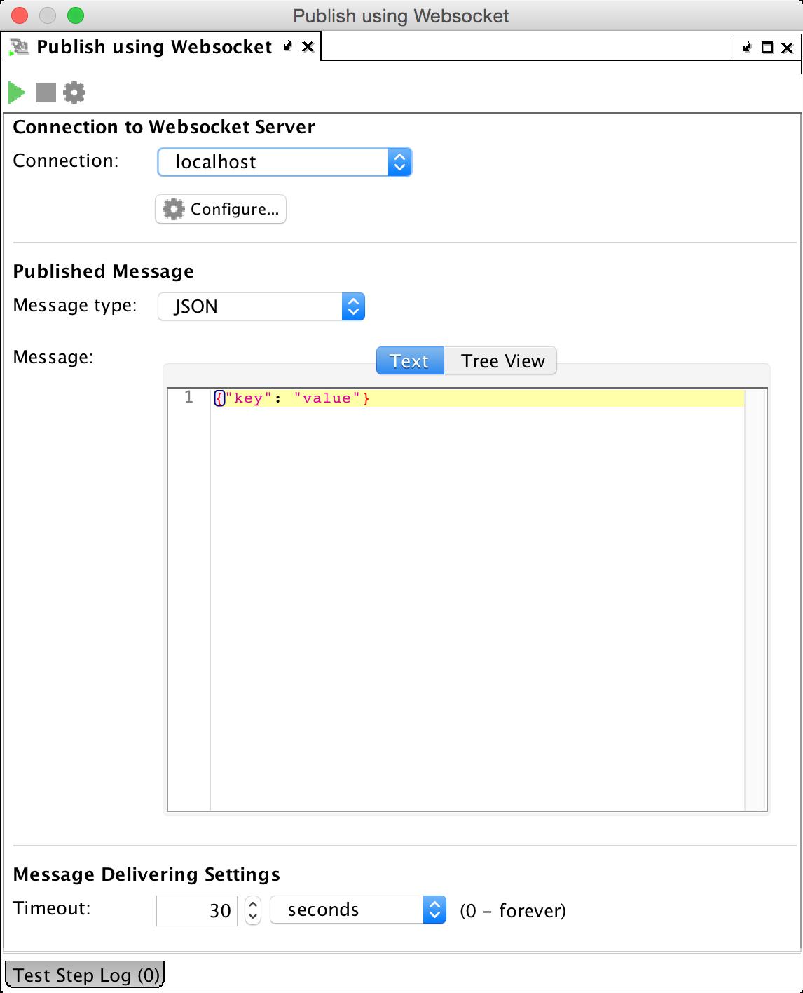 publish message