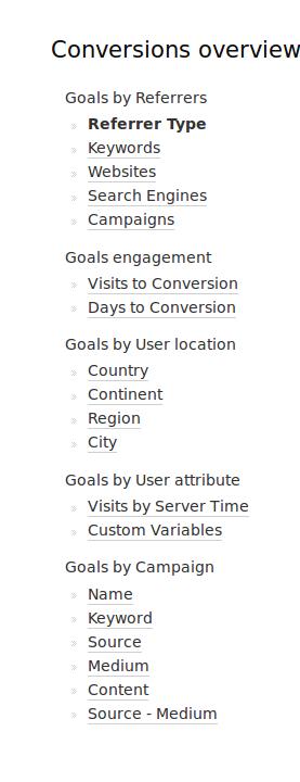 dimensions goals