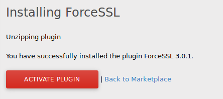 if plugin is not activated yet