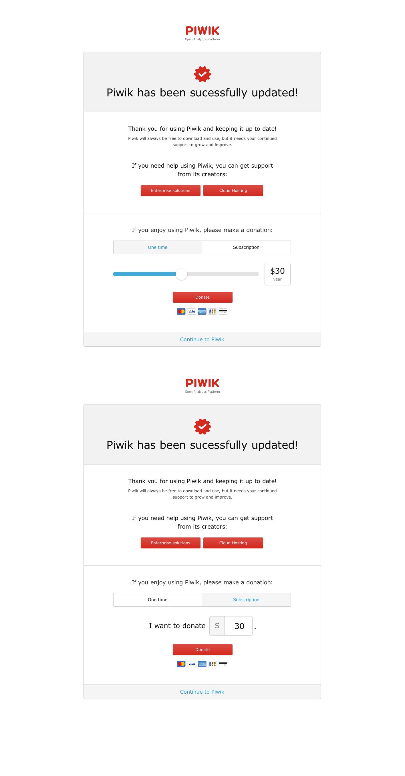 piwik-update