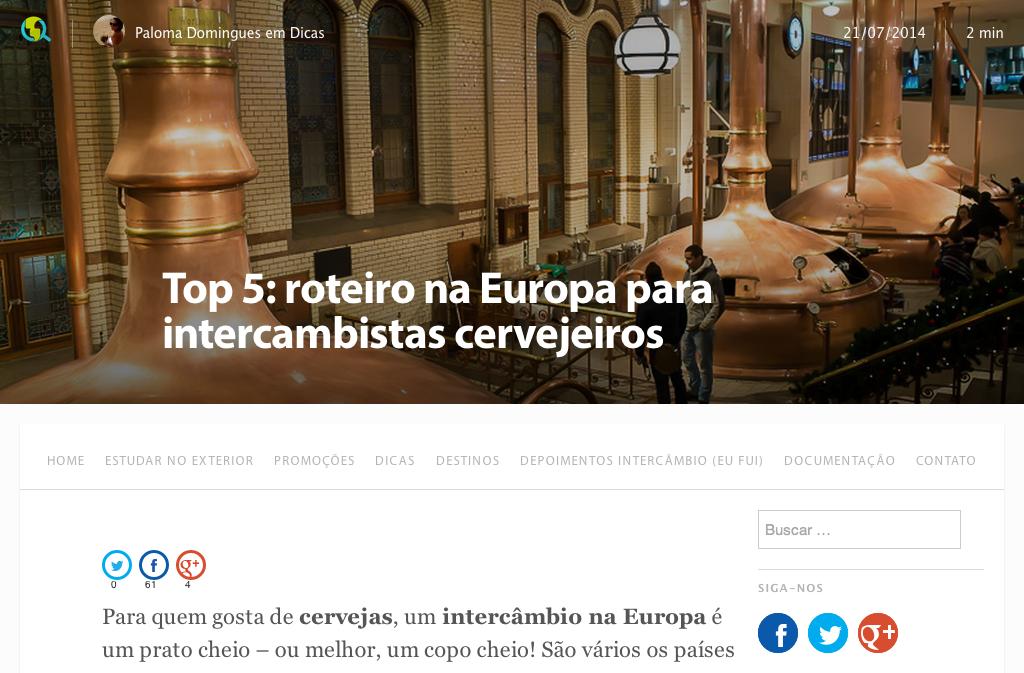 top 5 roteiro na europa para intercambistas cervejeiros - blog descubra o mundo 1