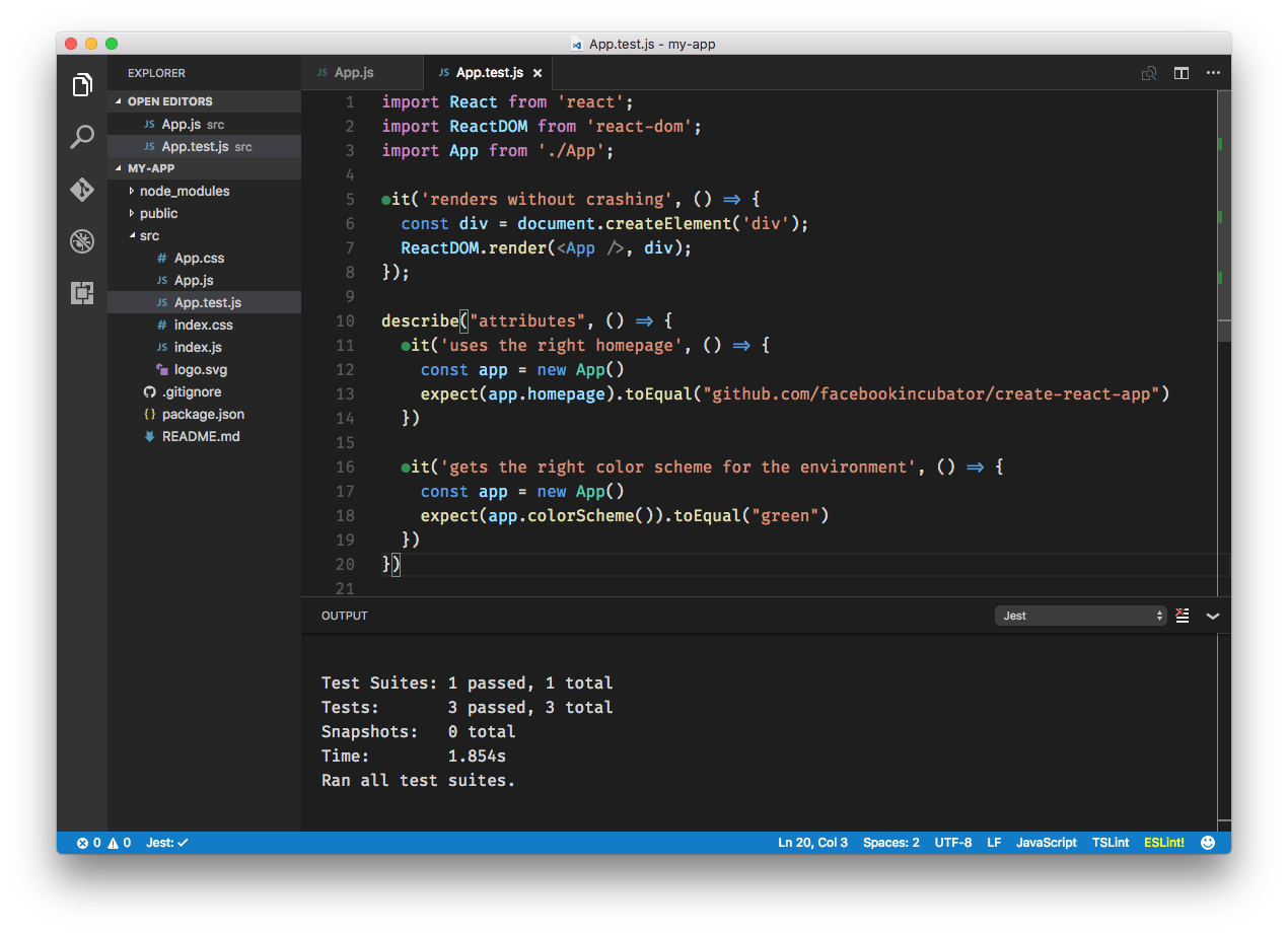 VS Code Jest Preview