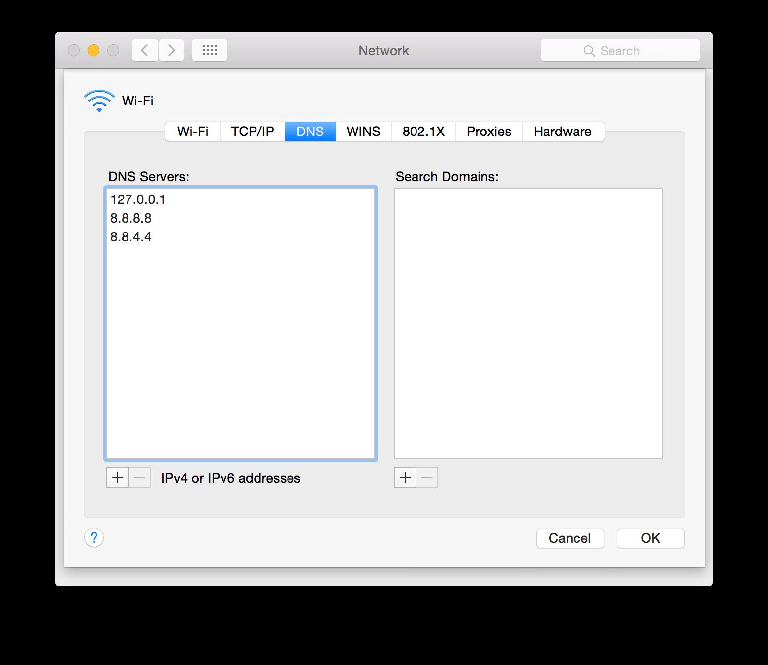 Setup Wildcard DNS on macOS