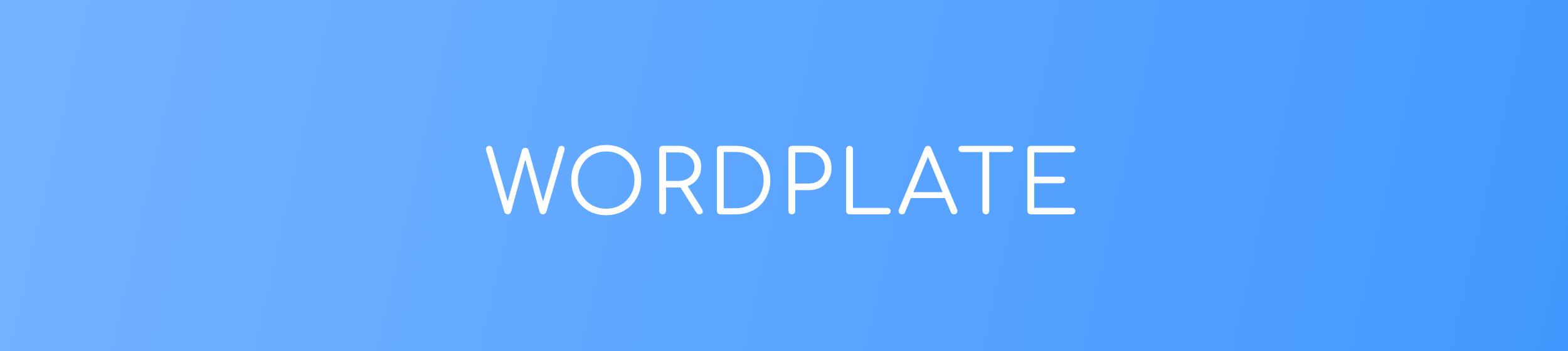 WordPlate
