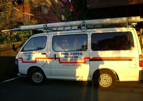 Soapy Plumber Van