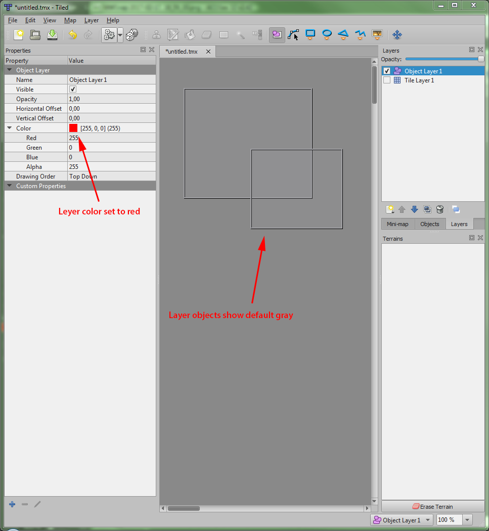 tied editor layer colors issue