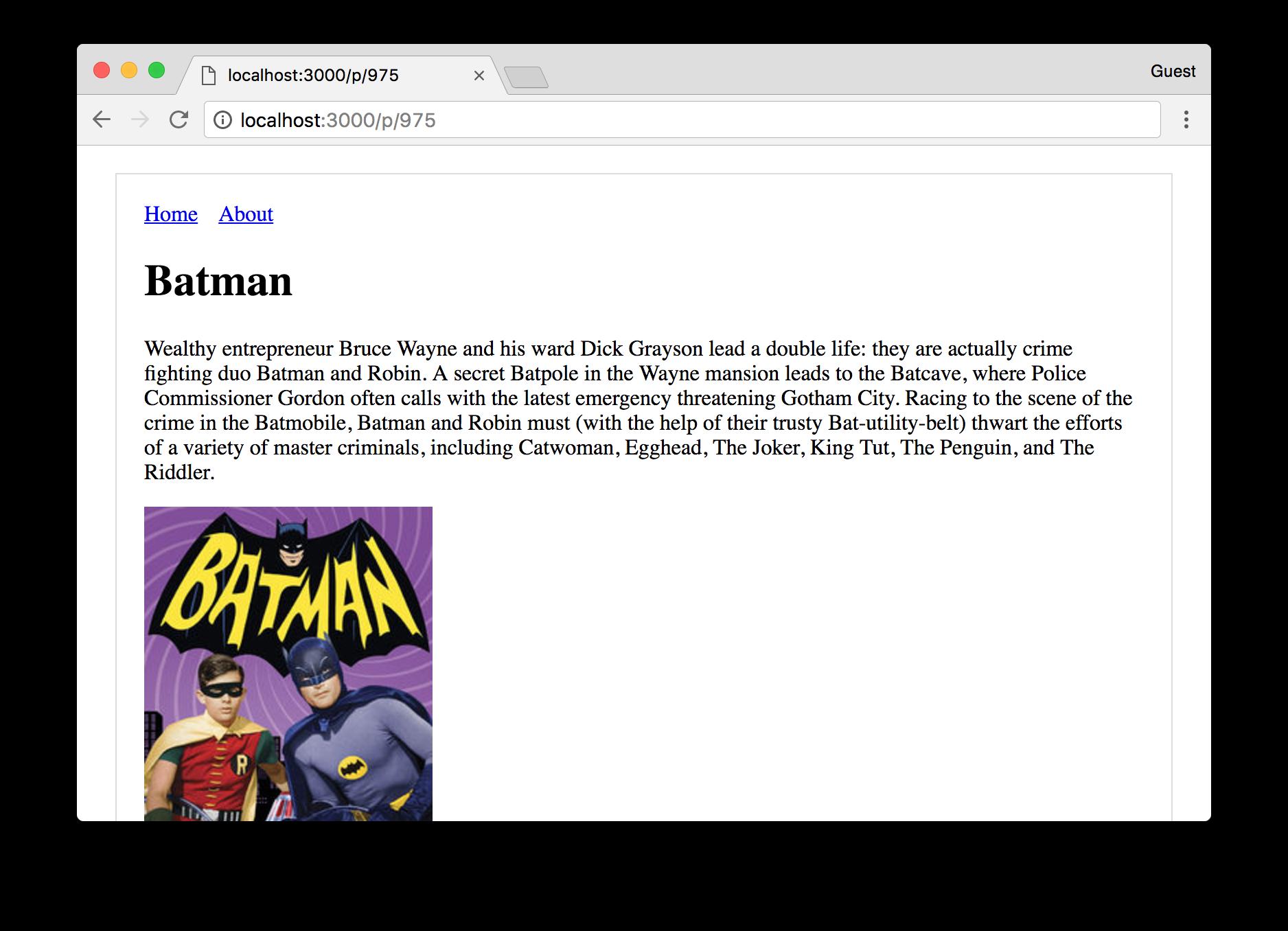 Batman TV Shows App