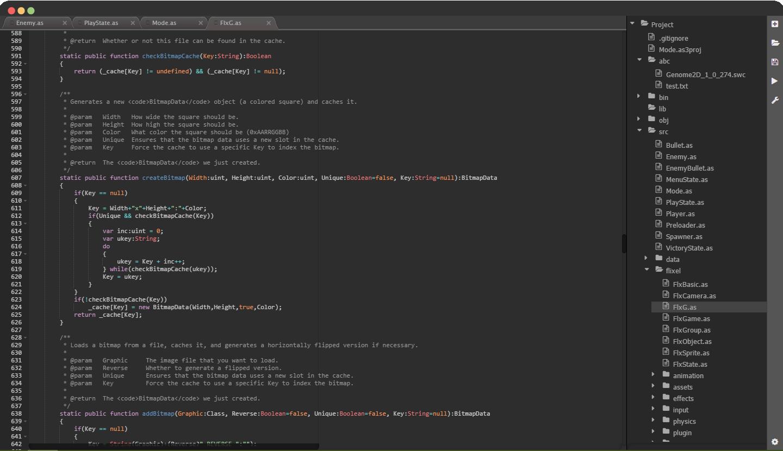 Screenshot of Codebot in use