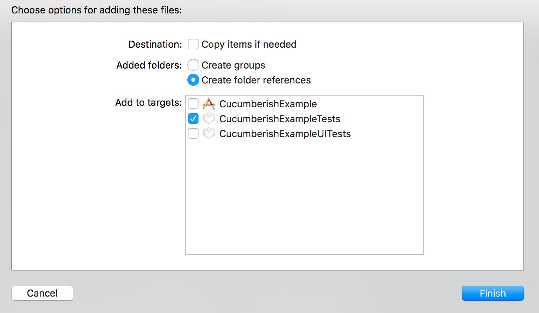 Features Folder as Folder not a Group