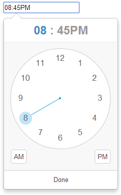 clockpicker-12-hour-screenshot