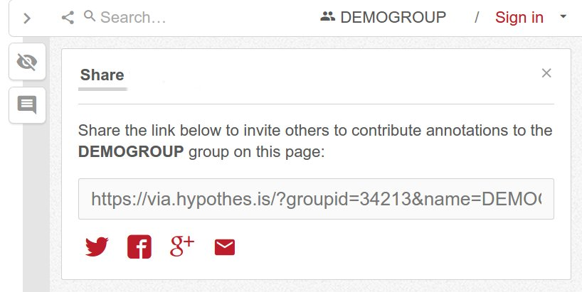 Groups prototype sharing
