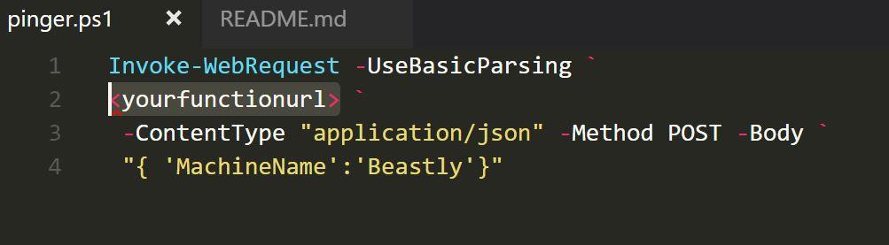 Ping PowerShell Script