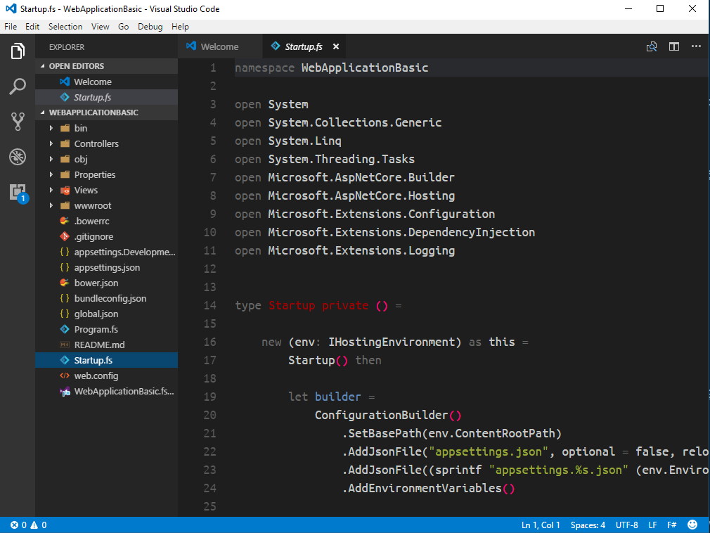 nice icons in vscode