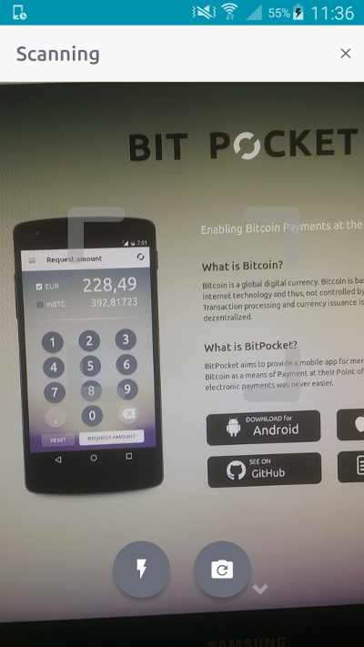 BitPocket Point Of Sale App