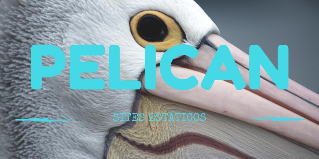 Pelican - sites estáticos