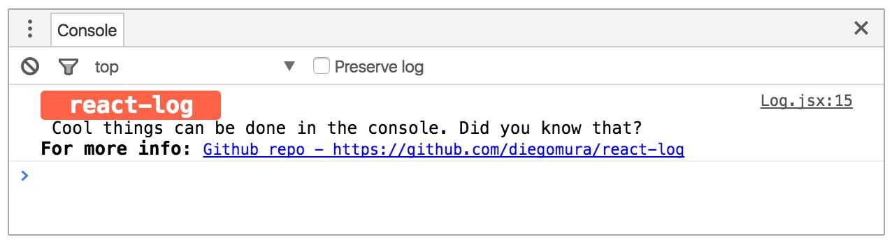 react-log-example