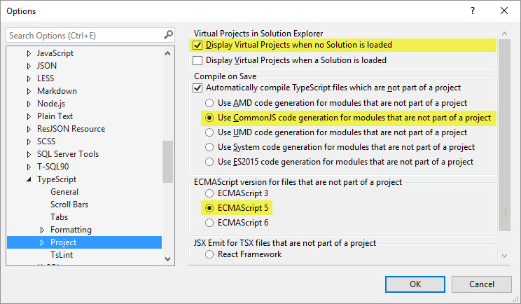 typescript-options