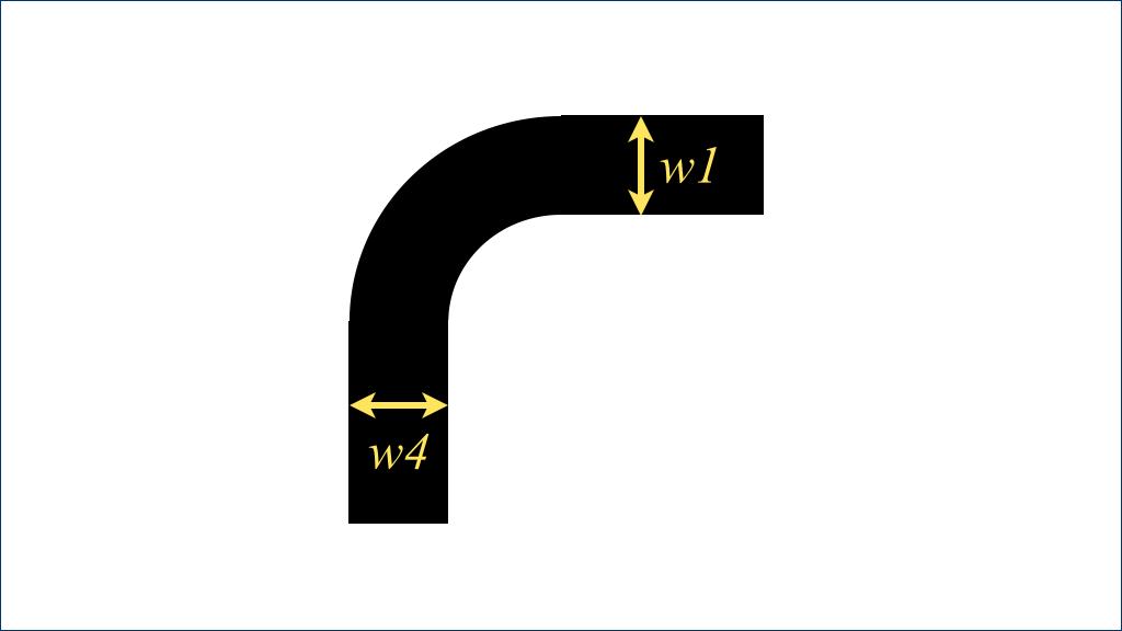 边框和圆角 - 标示边框的厚度