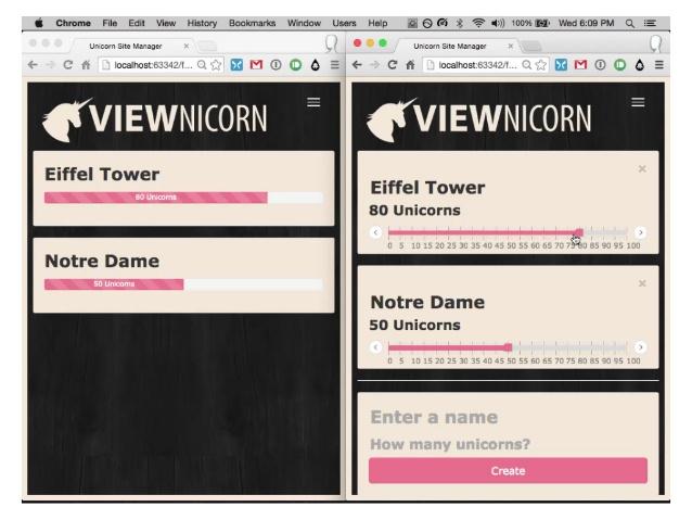 Viewnicorn Demo