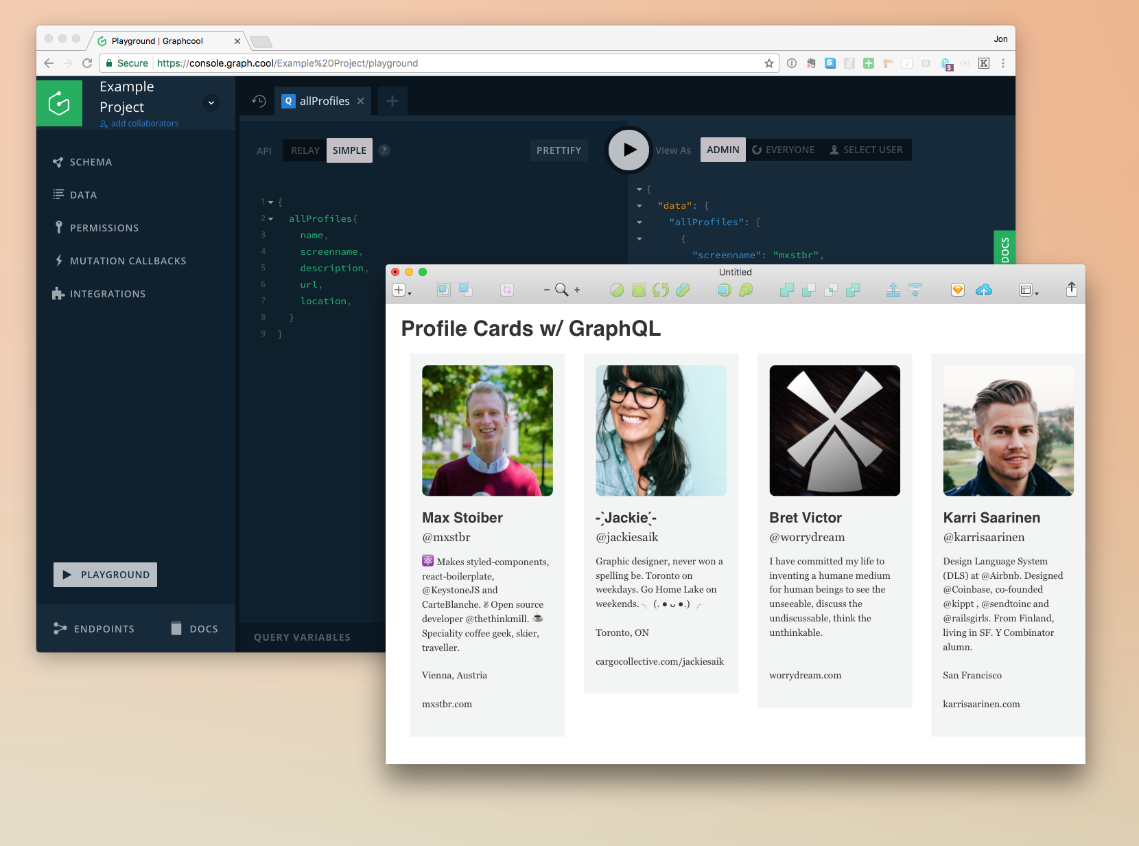 Profile Cards w/ GraphQL