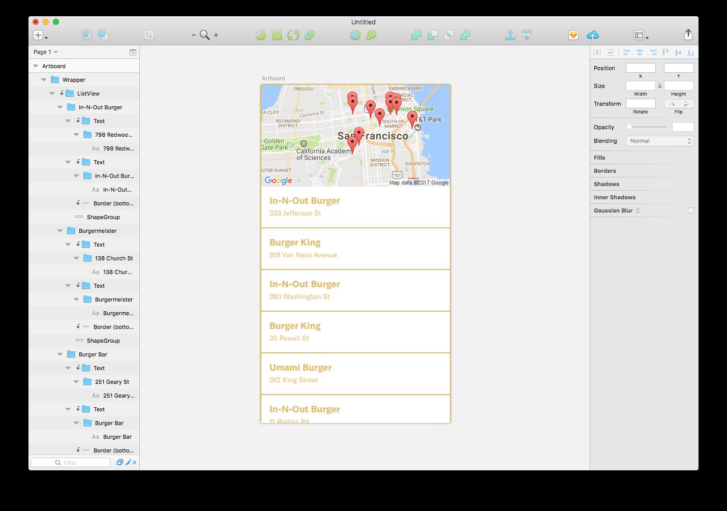 foursquare-maps