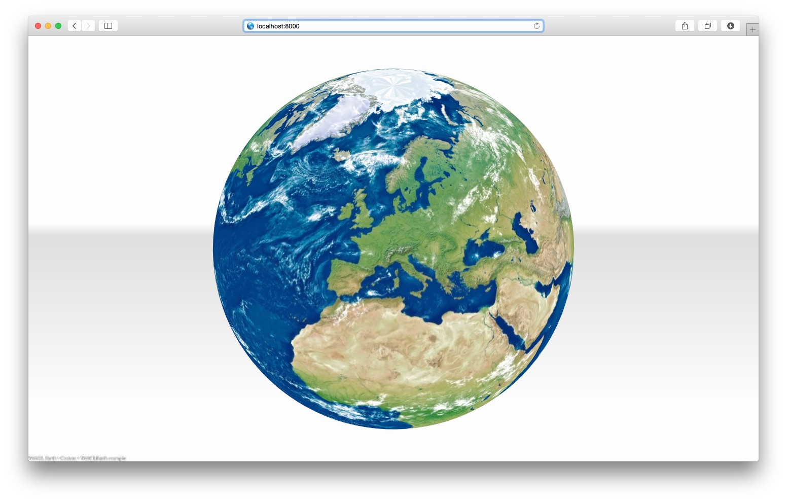 WebGL Earth Offline