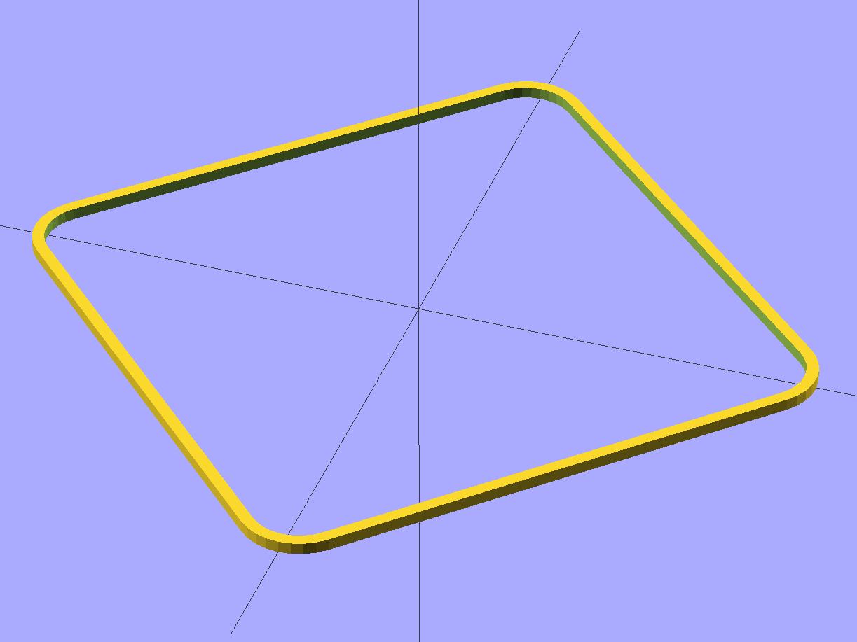 thinwall open box - 2 layers