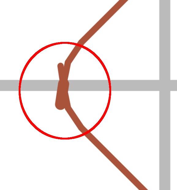 thinwall open box - slice error layer 2 - detail