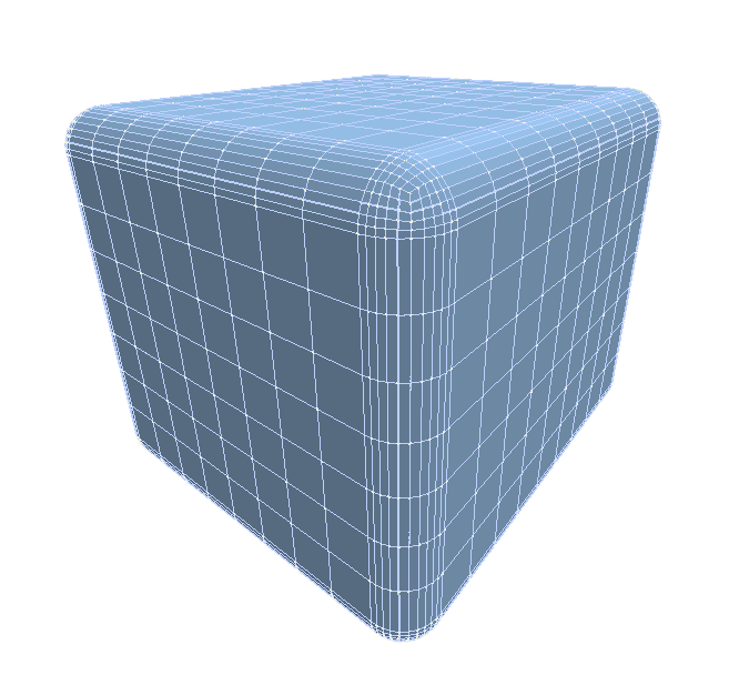img rounded cube