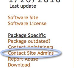 contact site admins