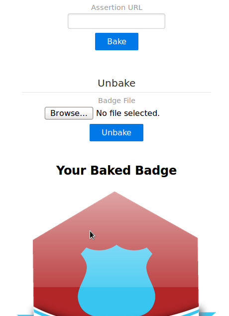 Baked Badge