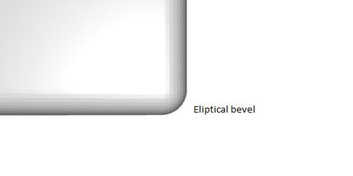 eliptical bevel