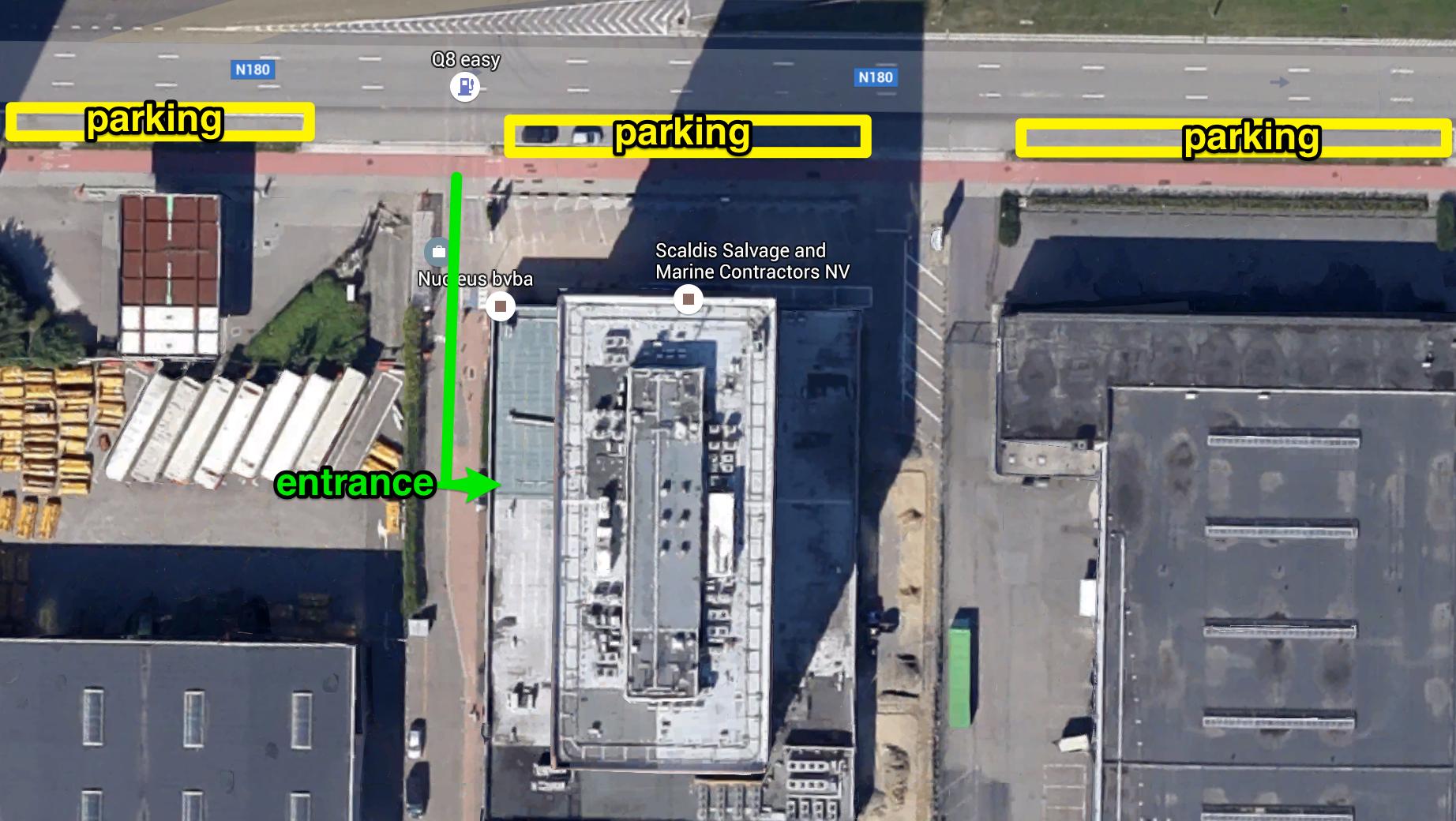 route parking