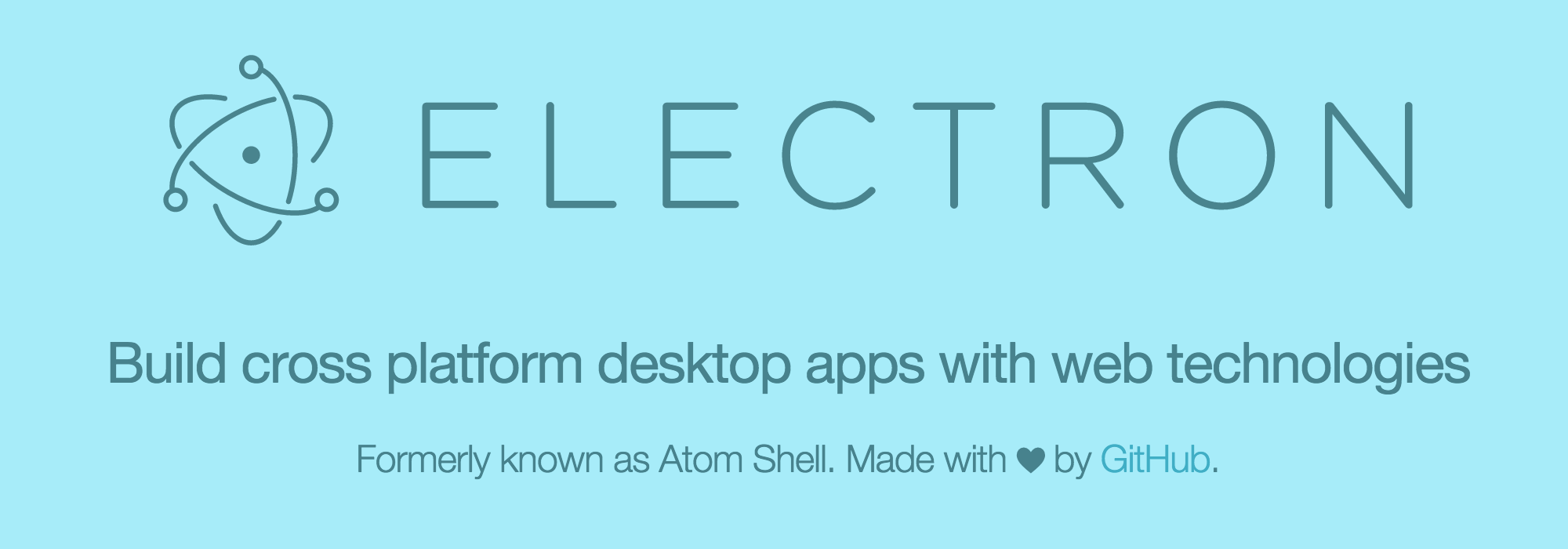 Atom Shell is now Electron | Electron Blog