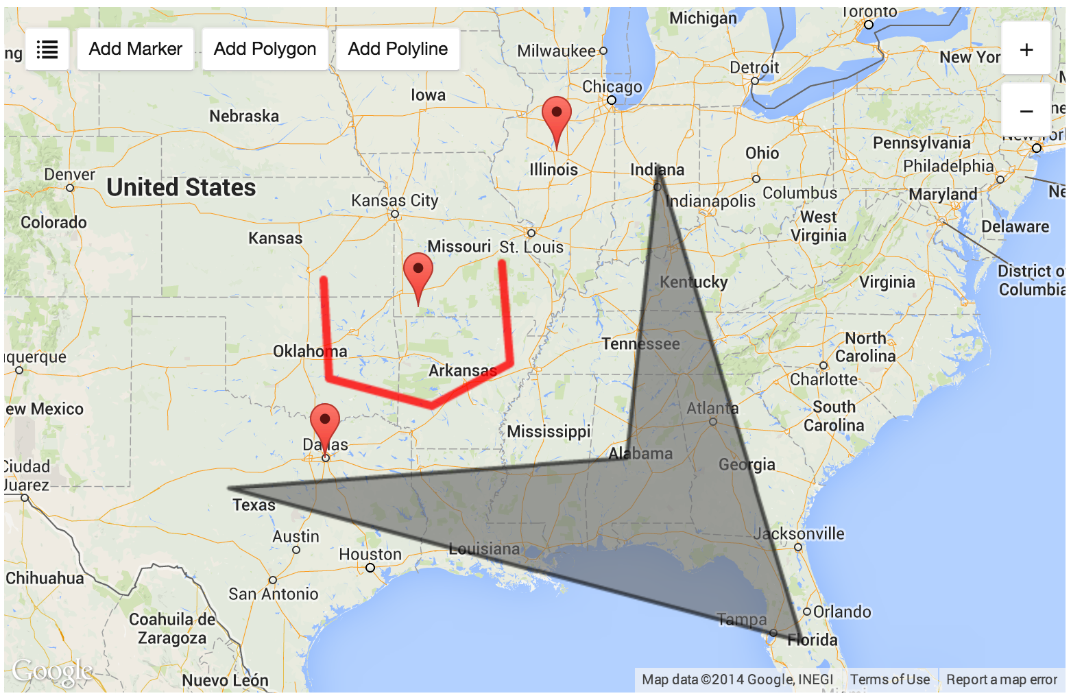 Google Maps for Craft Field Type
