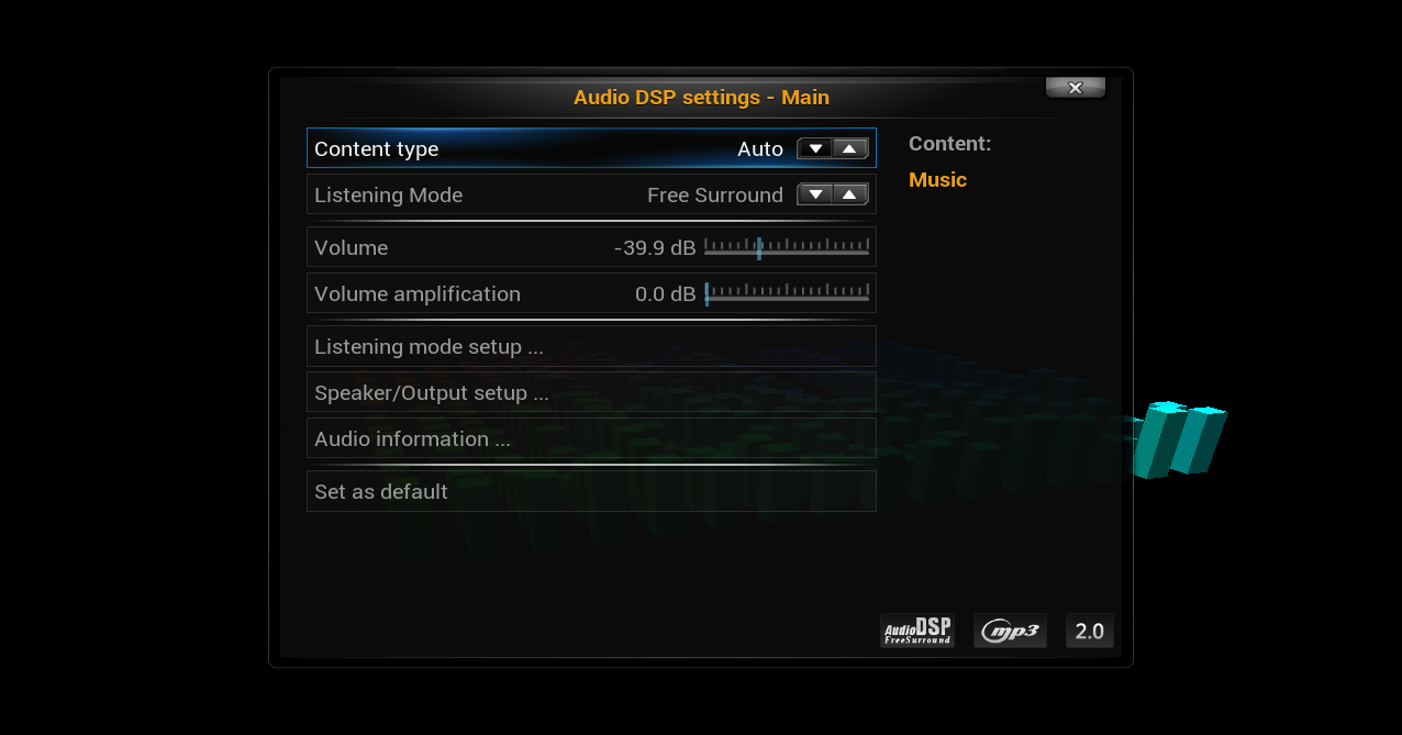 audiodsp - addon setting5