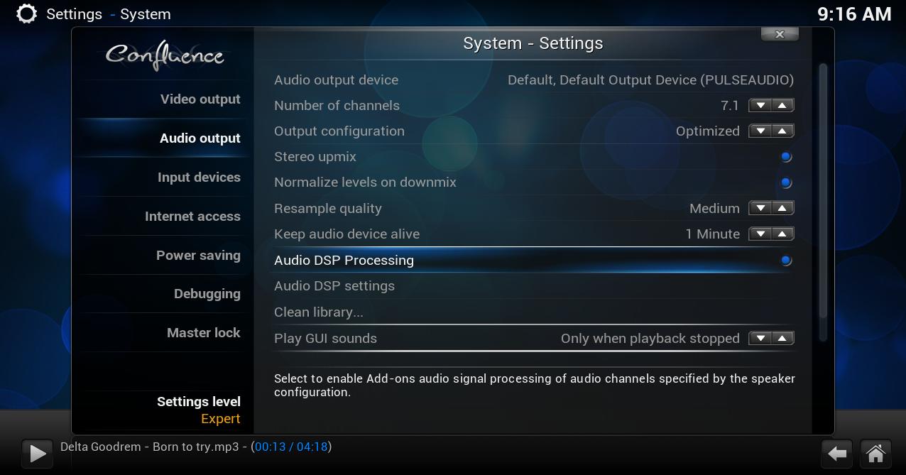 audiodsp - addon setting6