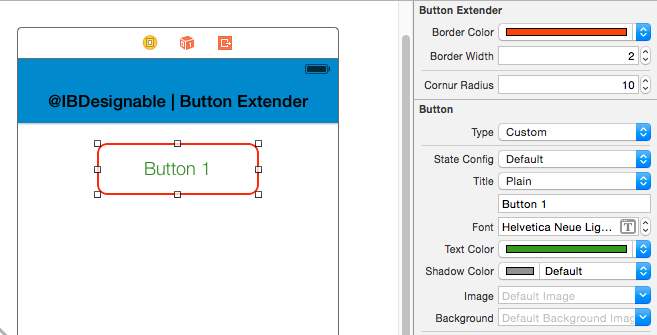 You can update design through storyboard itself