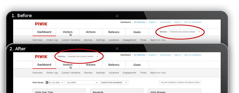 piwik-better-website-selector