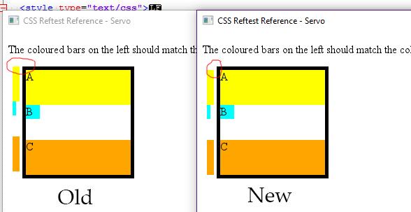 reftest rendering