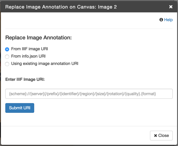 Add or Replace Image on Canvas