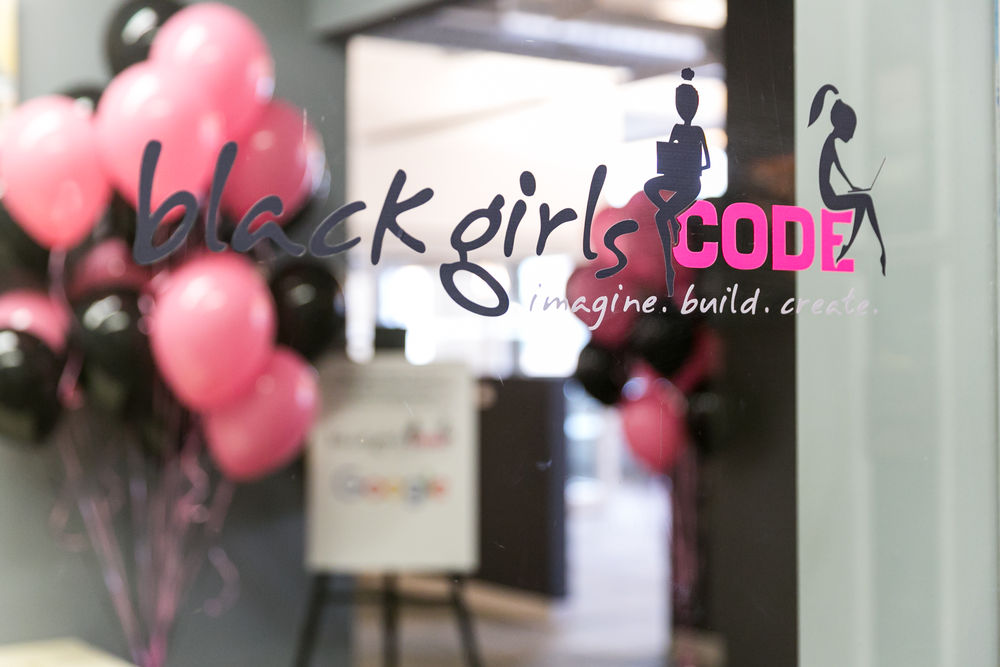 Black Girls Code helps girls participate in and create techology