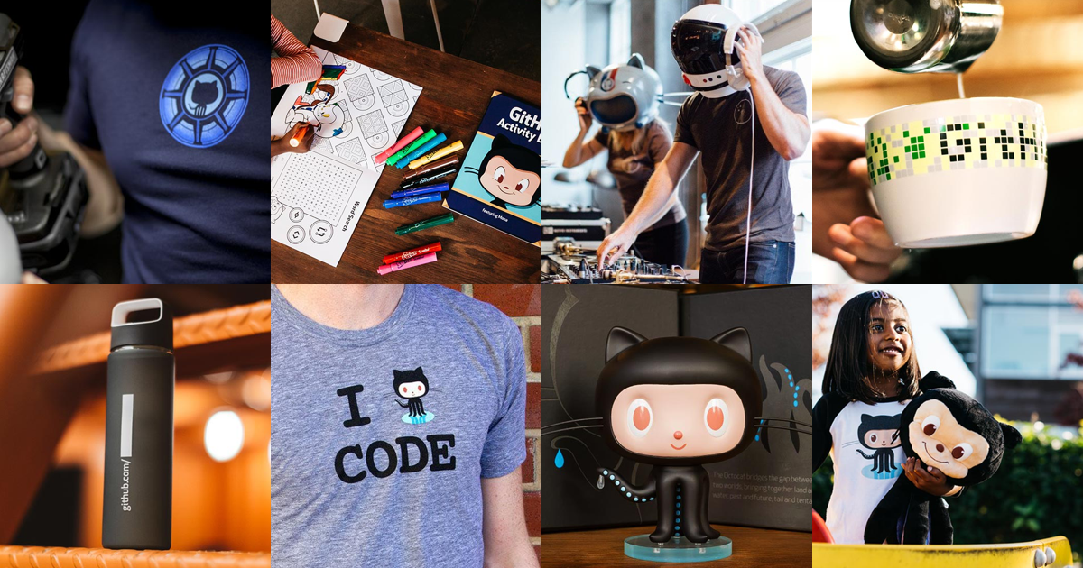 Use GITHUBTURNS9 for 20 percent off all items in the GitHub Shop