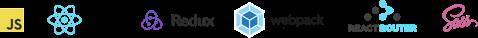 React, Redux, Router, Webpack, Sass