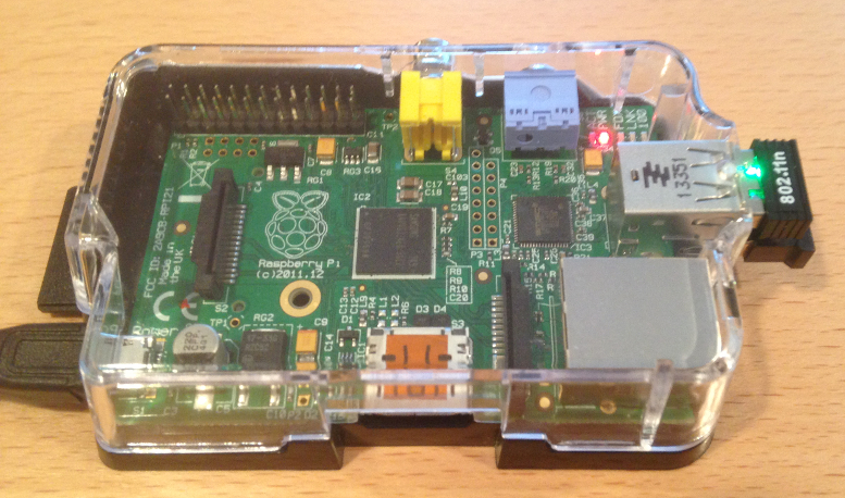 Raspberry Pi transmitting as an iBeacon